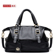 ZOOLER 2017 new women bag genuine leather bags handbags women famous brands luxury button shoulder bag bolsa feminina#S-2923