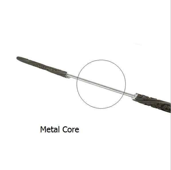 Металлический сердечник Рон волшебная палочка Уизли волшебные палочки/качественная подарочная упаковка для Харриса Косплей
