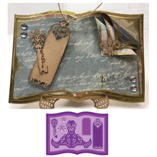 Book Holder Mark Story Frame Metal Cutting Dies for Scrapbooking DIY Album Paper Cards Craft Decor Embossing New 2019