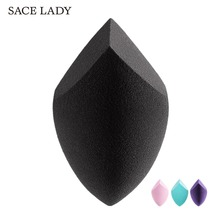 SACE LADY Face Cosmetic Puff Soft Non-Latex Makeup Sponge Liquid Powder Foundation Concealer Cream Make Up Blender Beauty Tools latex free water drop makeup blender for concealer foundation bb cream mask bamboo charcoal hydrophilicity sponge