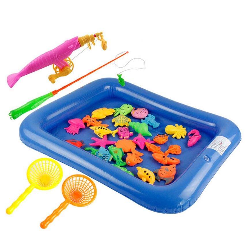 Child model sets images for Fishing toy set