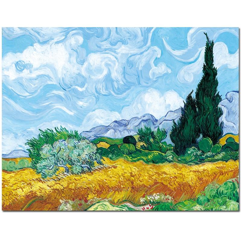 Maestra Girasole Vincent Van Goghopere Da Stampare E Colorare