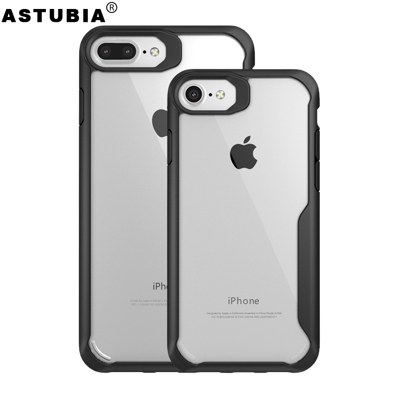Case For iPhone 8 Case For iPhone 6 Case Transparent Shockproof Cover For iPhone X 7 Plus Case For iPhone 6 6s 7Plus 8Plus 5 5s