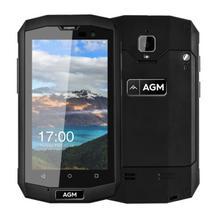 AGM Officielles A8 Mini 4G LTE Smartphone 4.0 pouce Quad Core 1 GB + 8 GB Android 6.0 8.0MP 2600 mAh Batterie IP68 Étanche Mobile téléphone