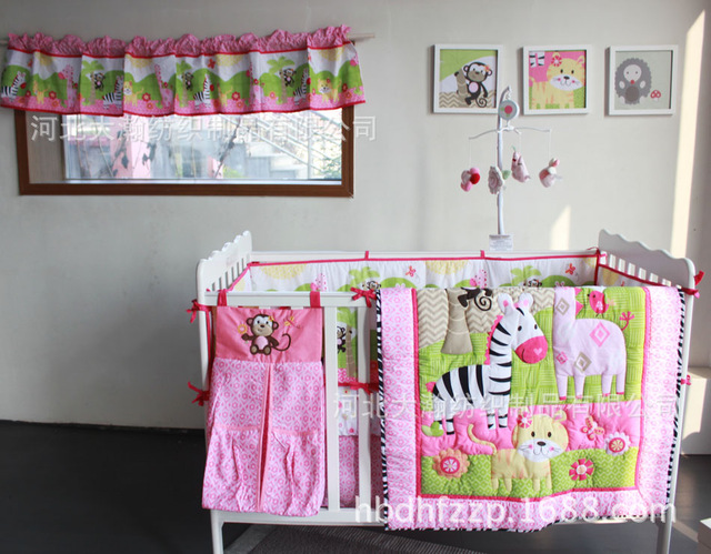 Online Get Cheap Zebra Crib Sheet Aliexpresscom Alibaba Group - Baby girl zebra crib bedding sets