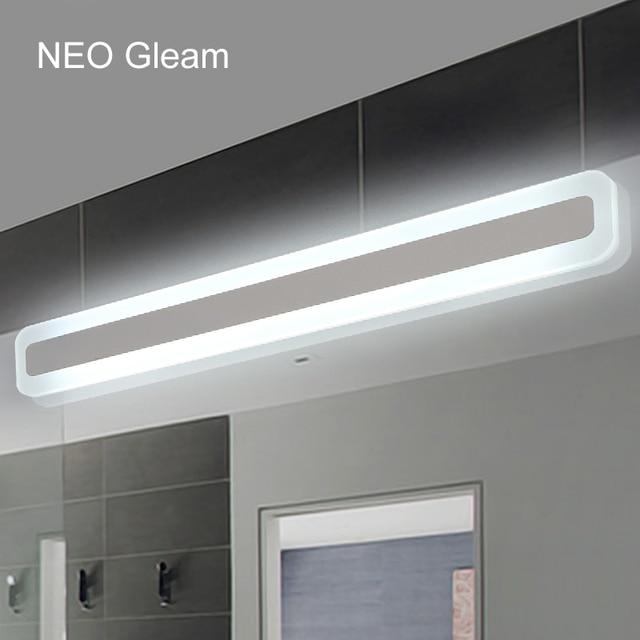 NEO Barlume Moderno bagno/wc anteriore LED luci specchio bagno luci ...