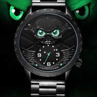 Mens นาฬิกาแบรนด์หรูกันน้ำนาฬิกากะโหลกศีรษะชาย Casual Quartz นาฬิกาผู้ชายกีฬานาฬิกาข้อมือ Relogio Masculino