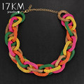 17KM New Bohemia Alloy Statement Necklaces For Women Pendants Choker Gifts Vintage Jewelry Bijoux Maxi Chokers Colar collier