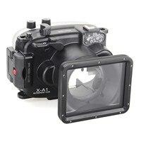 DF Meikon 40 м/130ft подводный Камера Корпус для Fujifilm X t10 (16 50 мм) водонепроницаемый случаях Камера аксессуары