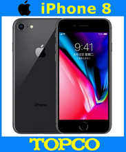 Apple iPhone 8 Factory Unlocked Original Mobile Phone HK version 4G LTE 4.7″ Hexa-core A11 12MP RAM 2GB ROM 64GB/256GB Cellphone