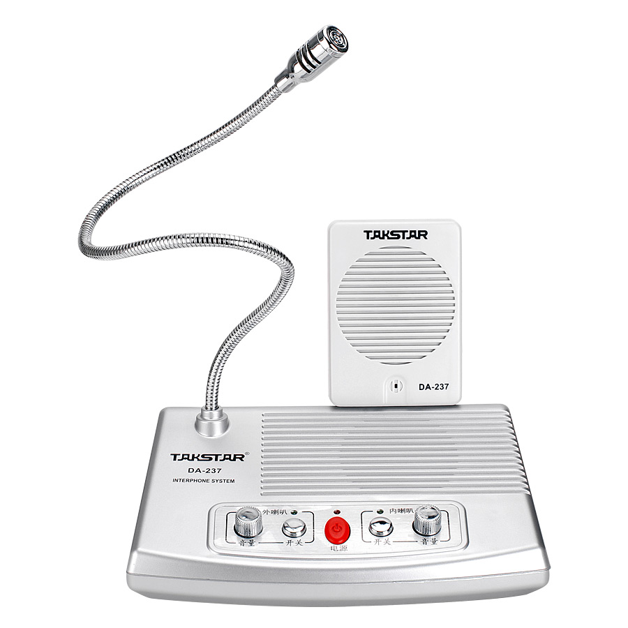 ФОТО Takstar overcometh da-237 two-way bank counte Microphone