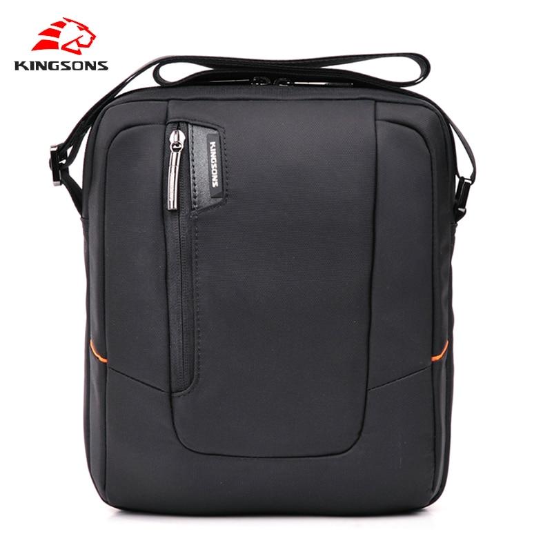 Kingsons Men bag Waterproof Notebook Computer Laptop Bag Unisex Briefcase Shoulder men Messenger Bag Brand Men Travel Bags 2017
