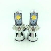 High Quality Super Bright 5200LM 12V 36W H4 Hi Lo COB LED Head Ligh Bulb With