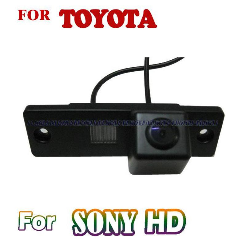 imágenes para Cable wireless para CCD visión nocturna de HD para 2010 2011 Toyota Fortuner/SW4 4runner 4 prado 2010 2011 Coche cámara de Visión trasera