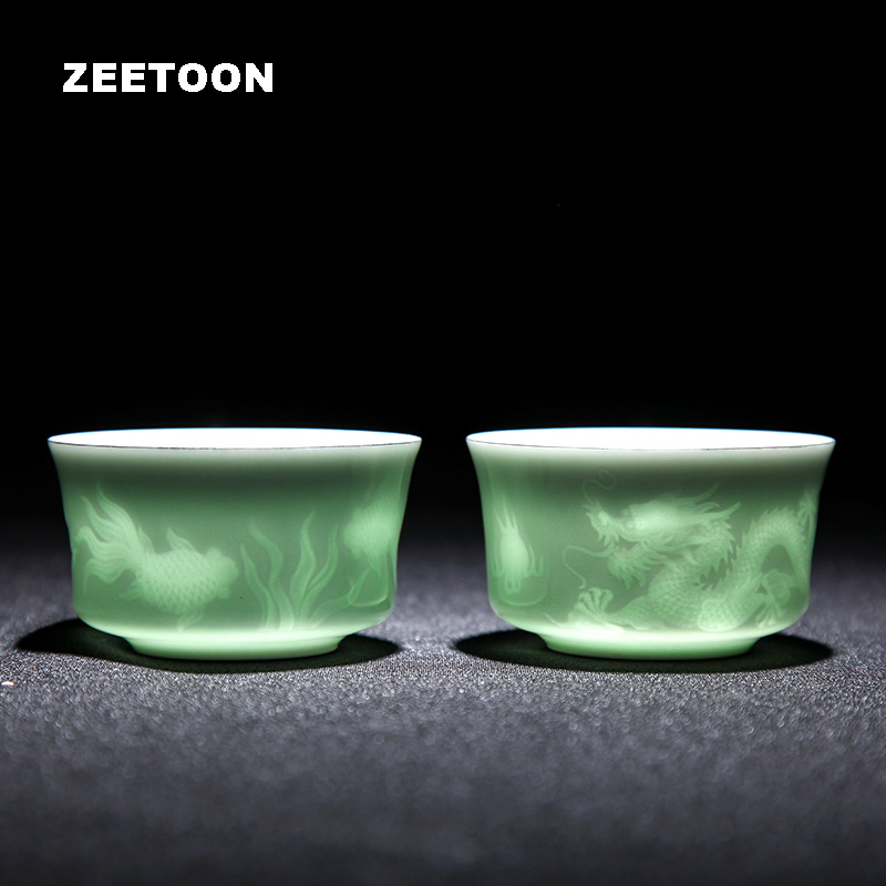 Shadow Celadon Creative Teacups