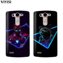 For LG G6 Q6 Q7 Q8 G7 XPower 2 V30 K7 K8 K10 2017 2018 XScreen Etui Marvel Avengers Heroes Spider-Man Deadpool Coque Case