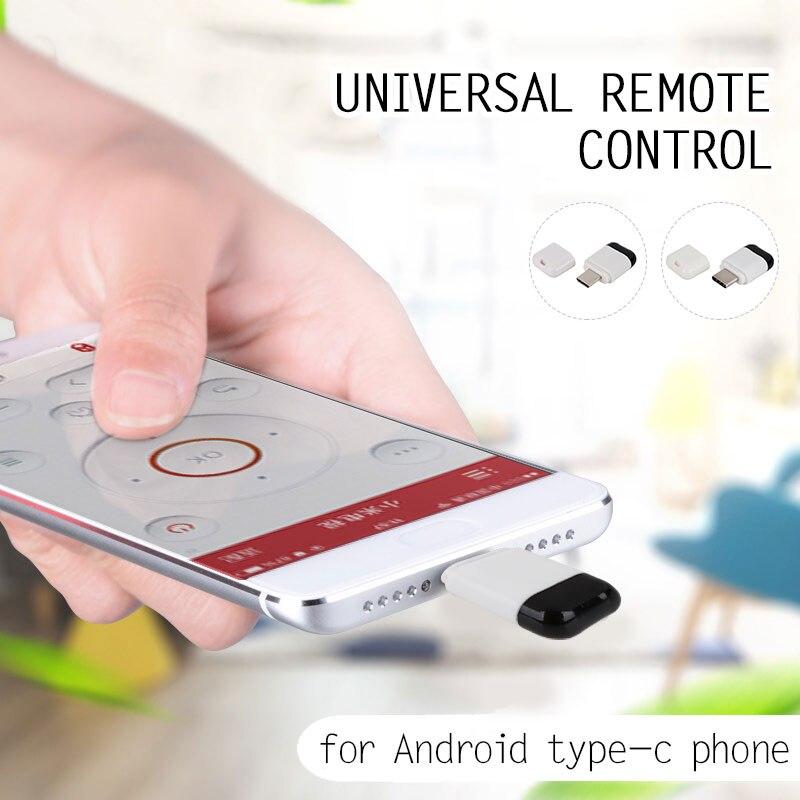 Инфракрасный пульт дистанционного управления домашний АБС Универсальный тип-c инфракрасный пульт дистанционного управления звукозаписыватель тип-c микроинтерфейс