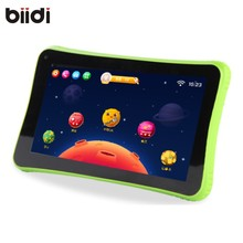 BIIDI New design Free Shippi Children tablet pc 1GB RAM 8GB ROM WiFi Quad Core 7 inch android 5.1 tablets for kids Gift(China)