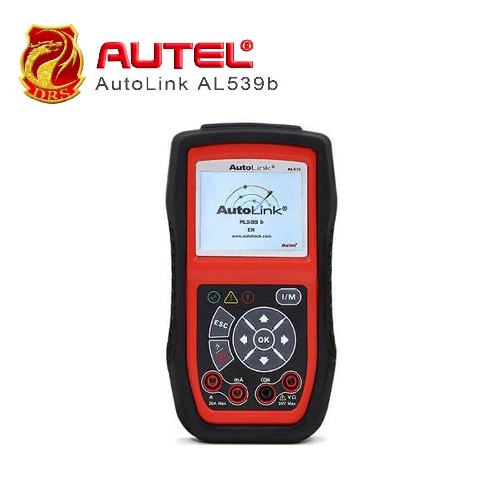 Newest Autel AutoLink AL539B OBDII Code Reader & Electrical Test Tool AL539B Auto Scanner Prints data via PC free online update code reader al539b autel autolink al539b obd ii
