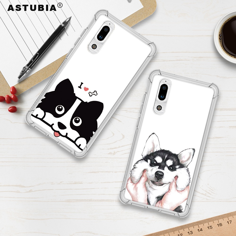 ASTUBIA Cute Dog Case For Sharp Aquos S2 Case For Sharp Aquos S2 Case Cover Hat Bulldog Soft Coque For Sharp Aquos S2 Phone Case