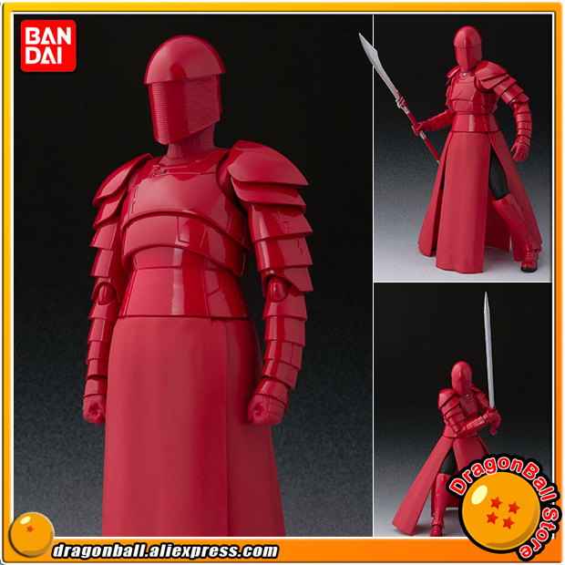 Anime Star Wars Original BANDAI Tamashii Nations S.H. Figuarts / SHF Action Figure - Elite Praetorian Guard (With Whip Staff)