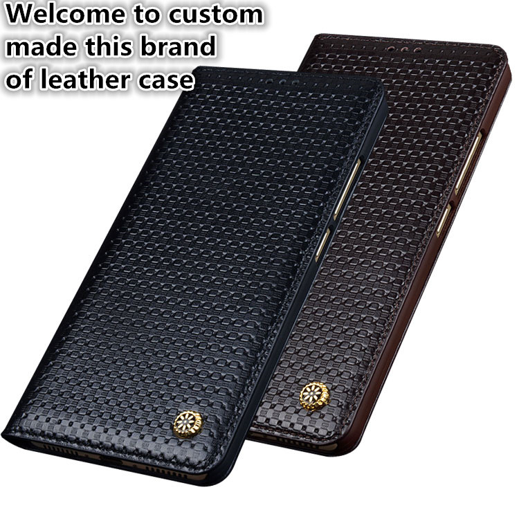 NC09 genuine leather flip case for Motorola Moto G4 Plus phone case for Motorola Moto G4 Plus leather cover free shipping