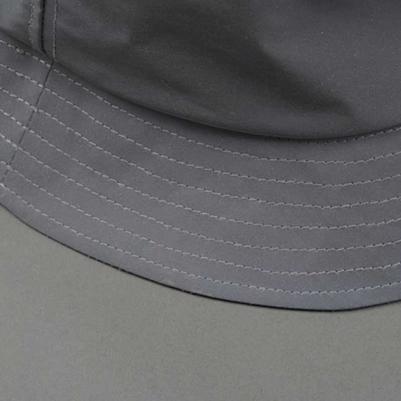 ... 2017 Brand 3 M Outdoor Sports Running Caps Winter Reflective Bucket Hat  Unisex Leather Bucket Hats ad621f8ab03d