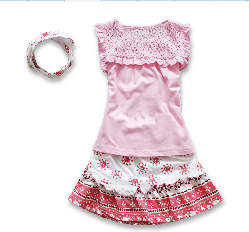Baby Clothes Bulk Babe Girl Dress Suit Babygirl Clothes Set Baby Girl Pink Clothes Summer Set 1st Birthday Suit in Clothing Sets from Mother Kids