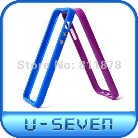 DHL Free Shipping 200pce/lot Case For Iphone5,TPU Frame For Iphone 5,TPU Bumper For Iphone 5
