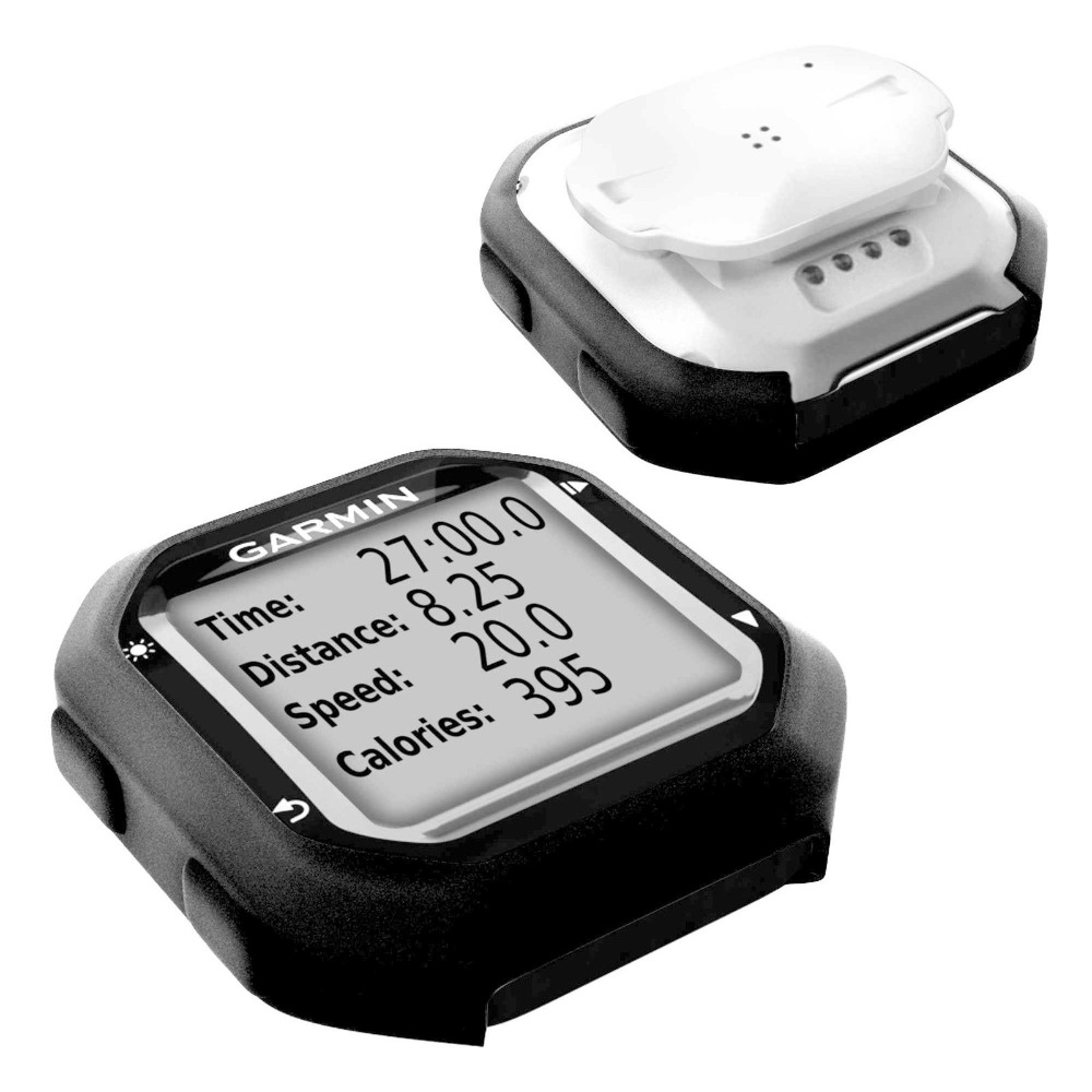 Outdoor Road / Mountainbike Radfahren Quick Step Black Protect Gummihülle für Garmin Edge 25 / Edge 20