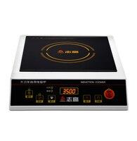 Новое обновление 220 В 3500 Вт коммерческих индукционная Плита бытовой водонепроницаемый мини hotpot самолет электрический жарочная печь Y