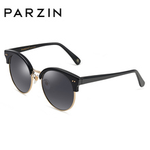 PARZIN Brand Women Polarized Sunglasses Female Round Driving Sun Glasses Summer Luxury Spectacles Summer Driving 9633