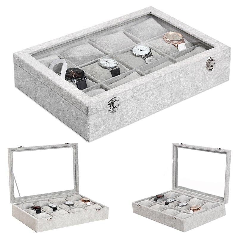 2019 Новые 12 сетки часы корпус коробки корпус для часов оболочка для часов коробка для часов Часы