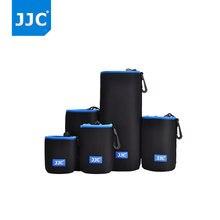 JJC Kamera fotoğraf makinesi çantası Yumuşak Küçük Lens Çantası için Canon/Nikon/Olympus Fujifilm/Sony/Pentax/ panasonic/Leica Fotoğraf SLR Neopren