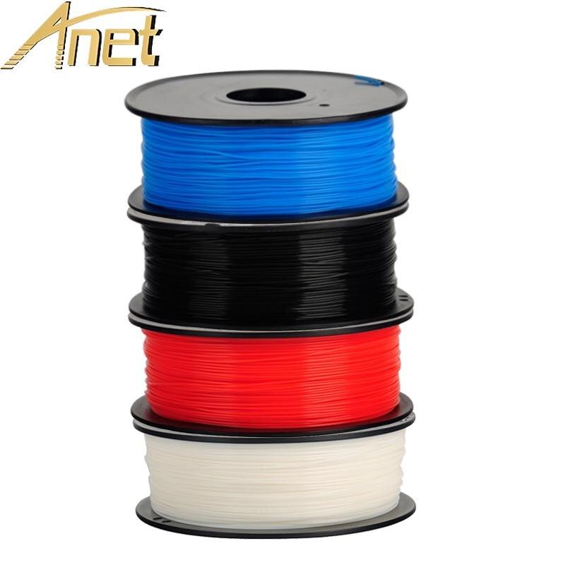 Barato Anet 3D Peças Da Impressora Filamento para MakerBot/RepRap/UP/Mendel 3D DIY Impressora PLA 1.75 milímetros 1 KG Consumíveis Material de Filamento