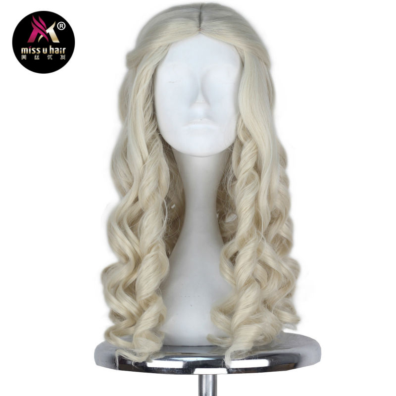 Synthetic Wigs Fei-show Inclined Bangs Hair Synthetic Heat Resistance Fiber Dark Brown Short Curly Children Wigs For 50cm Head Circumference Latest Technology Synthetic None-lacewigs