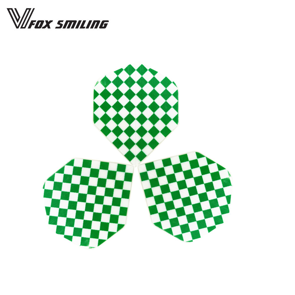 30pcs Nice Green Darts Tail Flights Wing For Professional Darts Wing Tail Darts Accessories