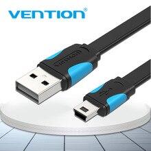 Vention Mini USB кабель Mini USB к USB кабель передачи данных для быстрой зарядки для сотового телефона цифровой камеры HDD MP3 MP4 плеер планшеты gps