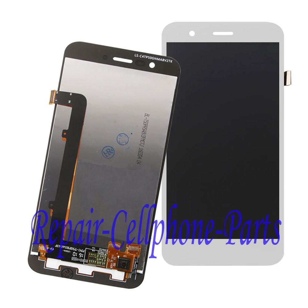 imágenes para Blanco 100% nueva pantalla lcd full + pantalla táctil digitalizador asamblea reemplazo para vodafone smart prime 7 vfd600 envío gratis