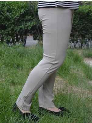 Deporte женские брюки 2019 осень и лето большие размеры среднего возраста женская одежда 5XL 6XL 7XL Высокая талия карандаш J672