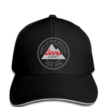 cc5176aba2bc4 Funny Men Baseball cap Women novelty cap Coors Light Born in The Rockies  Color Logo Soft
