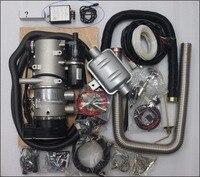 Бесплатная доставка GSM дистанцилнный контроллер + подарок + 9 кВт 24 в водонагреватель дизеля для автобуса грузовика нагреватель воздуха для