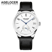 2017 AGELOCER Men Watch Munite Dial Men's Role Watch Luxury Famous Brand Sports Male Gift Analog Automatic Wristwatch