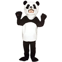 Deluxe Good Quality Plush Adorable Child S Panda Costume Boys Or Girls Kids Animal Halloween Fun