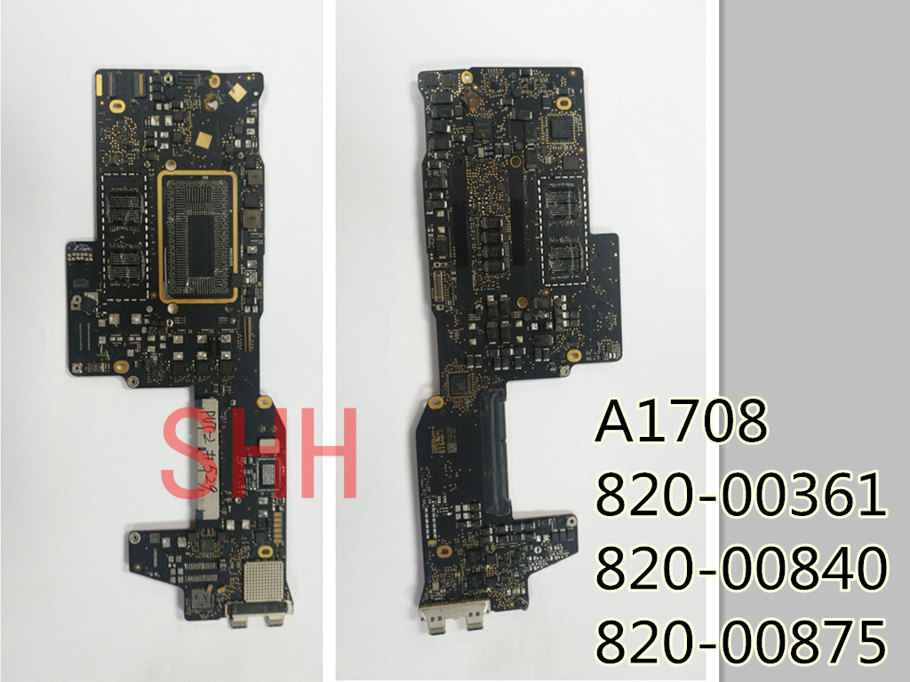 2016 Years 820-00840 820-00840-A /01 820-00875  820-00361  Logic Defective Board For Apple MacBook Pro A1708 Repair