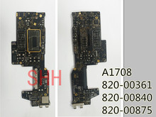 2016 years 820 00840  820 00875  820 00361  logic defective board for Apple MacBook pro A1708 repair