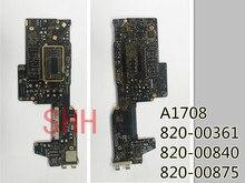 Placa lógica defectuosa para Apple MacBook pro A1708, placa lógica 2016 820 00840 820 00875