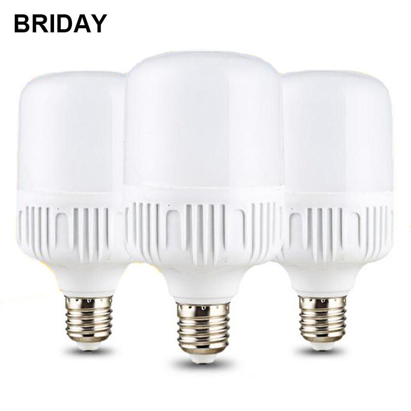 LED Bulb Lamps 220V LED Lamp E27 5W 15W 20W 30W High Brightness Light Bulb for Home Decoration Lampada LED Bombillas