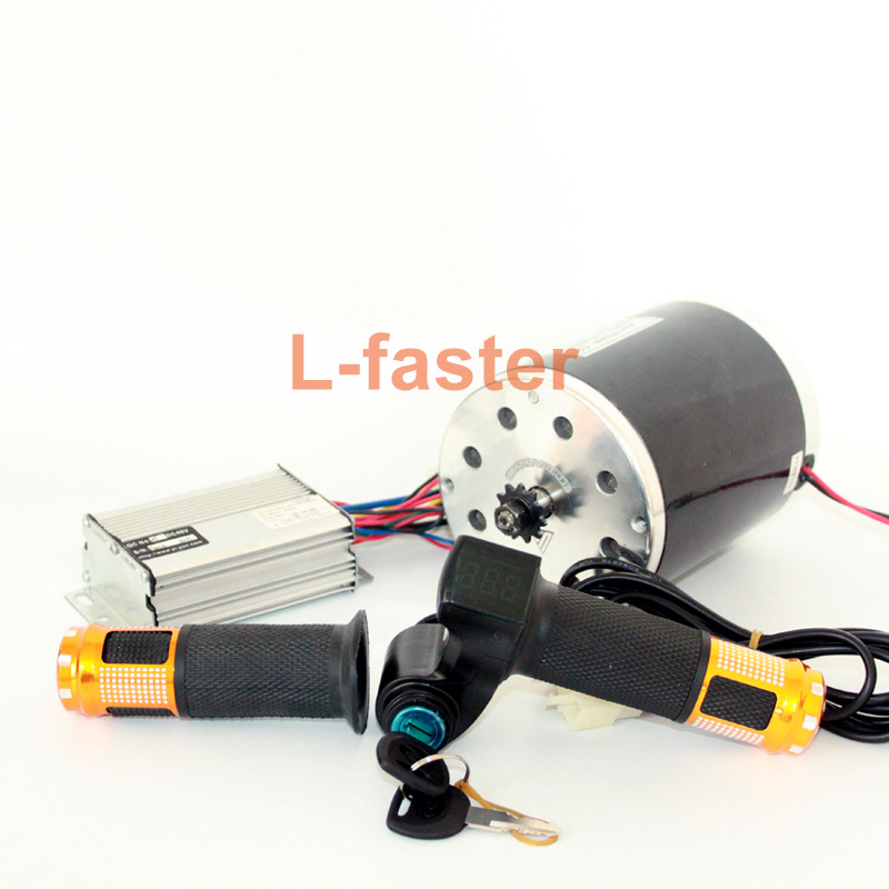 Pd750 Electric Motor Kit: 36V48V 800W Electric Brush DC Motor Kit Electric Scooter