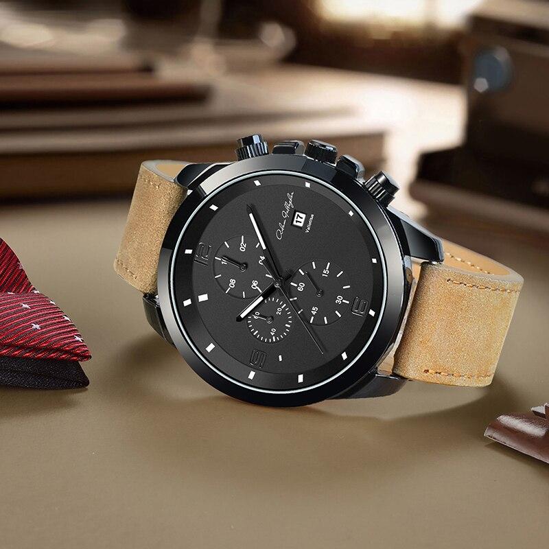 a376200966f Melhor Adam Gallagher homens Relógio de Quartzo Relógio de Pulso À Prova D  Água Relógio Do Esporte Barato Online Preço.